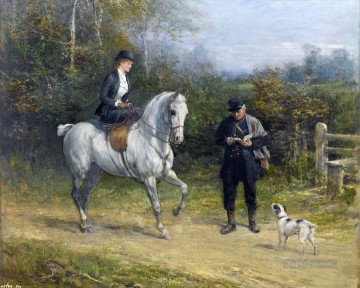 Hunting Painting - hunt 12
