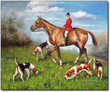 Hunting Painting - Gdr0008 classical hunting