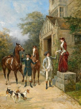 Classical Painting - The New Mount Heywood Hardy hunting