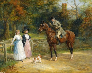 hunting 17 Oil Paintings