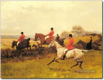 Gdr0005 classical hunting Oil Paintings
