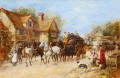 Changing the Horses Heywood Hardy hunting