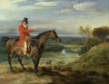 James Ward John Levett Hunting at Wychnor Staffordshire