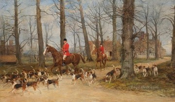 Hunting Painting - hunt 9