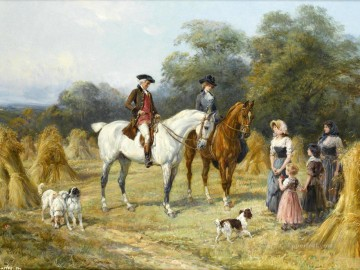 hunting 15 Oil Paintings