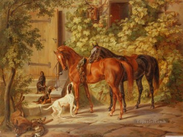 hunting season Oil Paintings