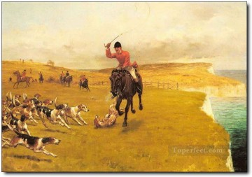 Gdr0007 classical hunting Oil Paintings