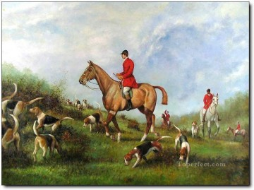 Gdr0010 classical hunting Oil Paintings