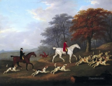 Hunting Painting - Gdr0011 classical hunting