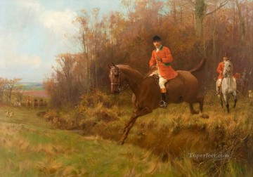 Gdr0012 classical hunting Oil Paintings