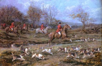 Hunting Painting - Gdr024 classical hunting
