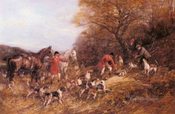 Gdr025 classical hunting Oil Paintings