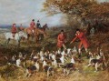 Hunters and hounds Heywood Hardy hunting