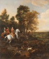 Jan Wyck Hare Hunting