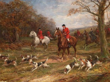 Hunting Painting - hunt 13