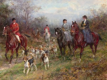 hunters 21 Oil Paintings