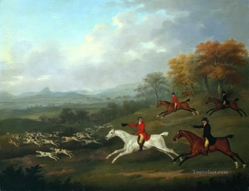 Classical Painting - hunters 61