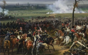 Battle of Hanau Military War Oil Paintings