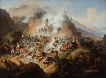 Battle of Somosierra by January Suchodolski Military War Oil Paintings