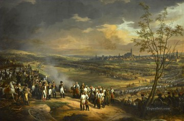 Reddition de la ville Ulm le 20 octobre 1805 Charles Thevenin Military War Oil Paintings