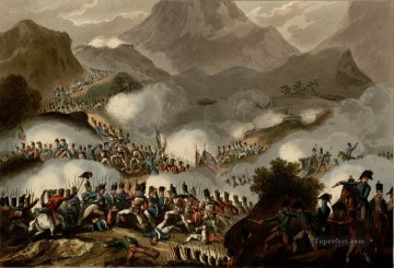 William Heath Battle of the Pyrenees July 28th 1813 Military War Oil Paintings