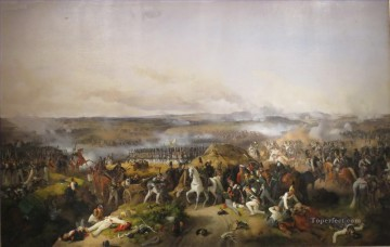 battlefield Peter von Hess Military War Oil Paintings