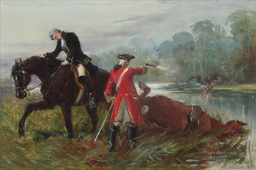 After Culloden Samuel Edmund Waller genre Military War Oil Paintings
