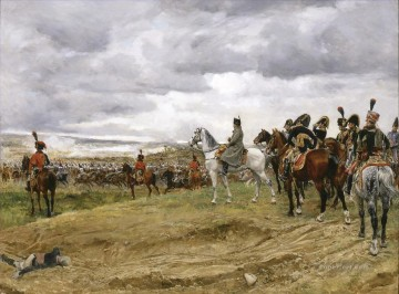 The Frick Pittsburgh Ernest Meissonier Academic Military War Oil Paintings