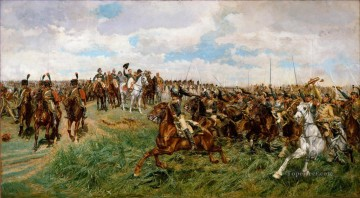 Classical Painting - Friedland Ernest Meissonier Academic Military War