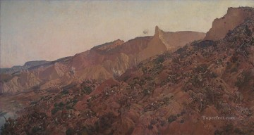 Classical Painting - Anzac the landing 1915 George Washington Lambert Military War
