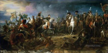 Classical Painting - Francois Gerard The Battle of Austerlitz 2nd December 1805 La bataille Austerlitz Military War