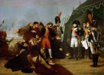 Classical Painting - Napoleon accepts the surrender of Madrid 4 December 1808 Antoine Jean Gros Military War