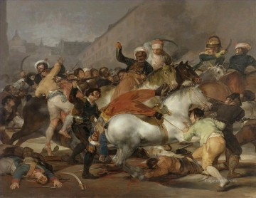 Classical Painting - The Second of May 1808 or The Charge of the Mamelukes by Francisco Goya Military War