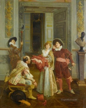 Classical Painting - secret Mariano Alonso Perez Rococo