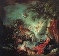 The Rest on the Flight into Egypt Francois Boucher classic Rococo