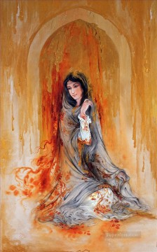Lagrimas doradas Persian Miniatures Fairy Tales Oil Paintings