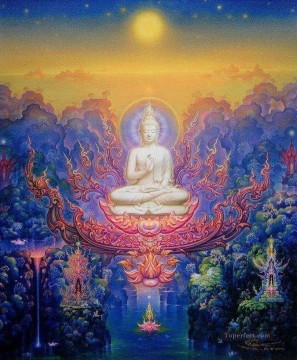 Fairy Tales Painting - contemporary Buddha fantasy 007 CK Fairy Tales