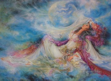 Hope is Eternal Persian Miniatures Fairy Tales Oil Paintings