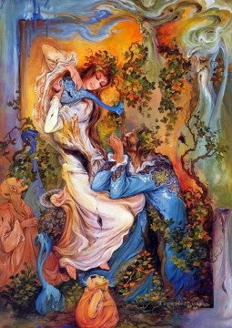 Fairy Tales Painting - MF Miniatures Fairy Tales 06
