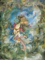 dancing girl Persian Miniatures Fairy Tales