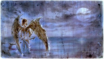 Fantastic Stories Painting - fallen angel Fantastic