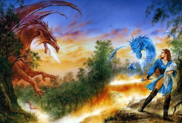 dragon rhapsody Fantastic Oil Paintings