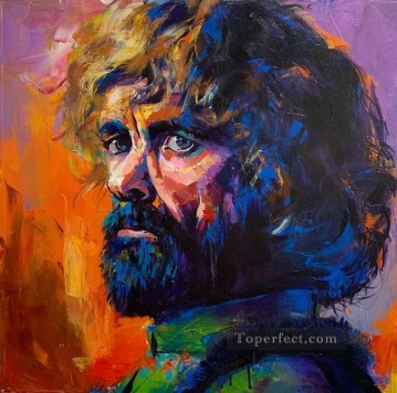 Portrait of Tyrion Lannister 4 Game of Thrones Oil Paintings
