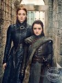 Sansa and Arya Stark Game of Thrones