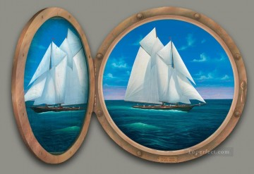 Full Sail magic 3D Oil Paintings