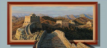 Chinese Great Wall 3D Oil Paintings