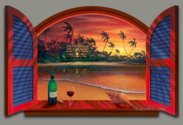 Enchanted Evening magic 3D Oil Paintings
