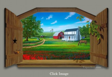Magic 3D Painting - A Simpler Time magic 3D