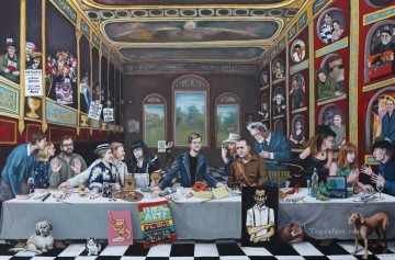 Last Supper 16 Fantasy Oil Paintings