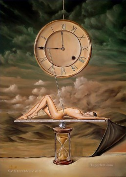 Illusion of time Fantasy Oil Paintings